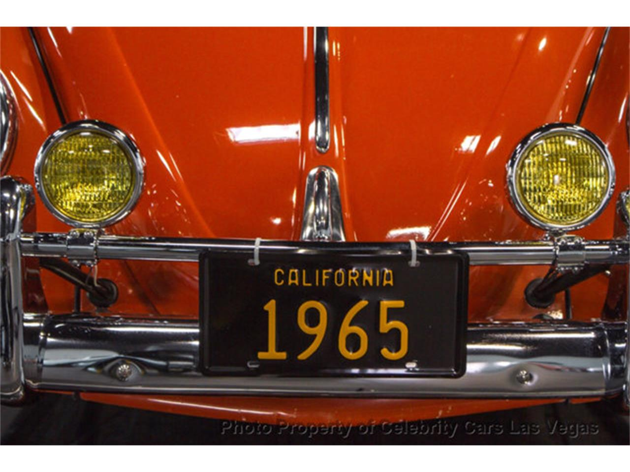 Large Picture of '65 Volkswagen Beetle located in Nevada Offered by Celebrity Cars Las Vegas - LPJ7