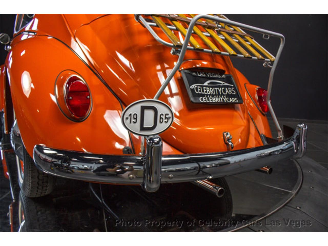 Large Picture of '65 Volkswagen Beetle - $23,500.00 Offered by Celebrity Cars Las Vegas - LPJ7