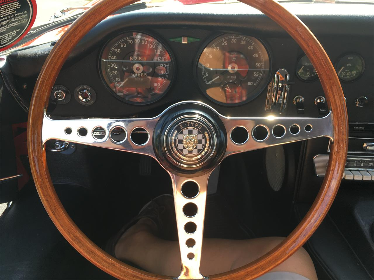 Large Picture of '67 E-Type - LPLK