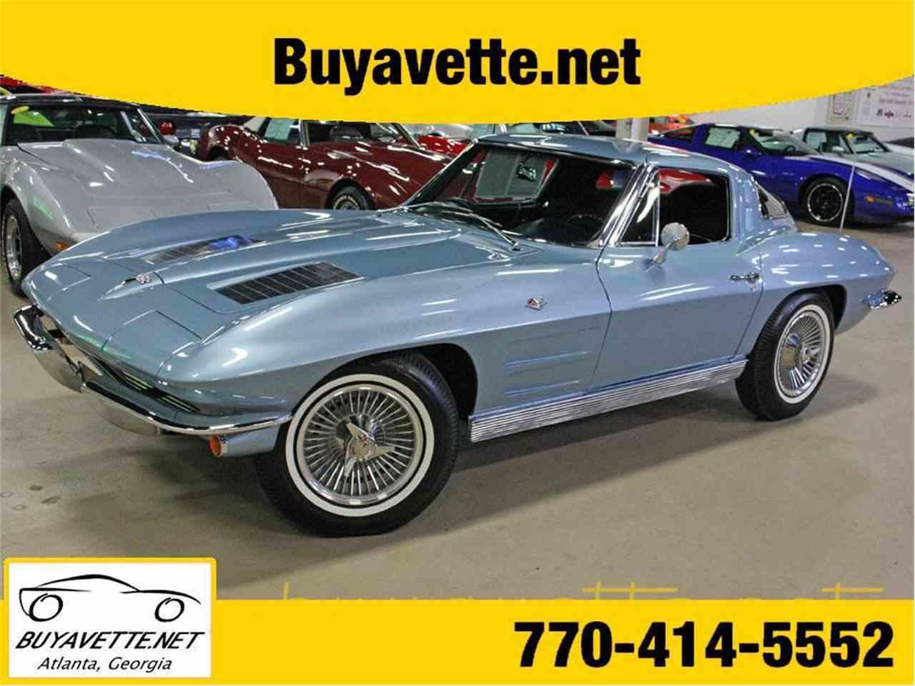 Large Picture of '63 Chevrolet Corvette - LPPB