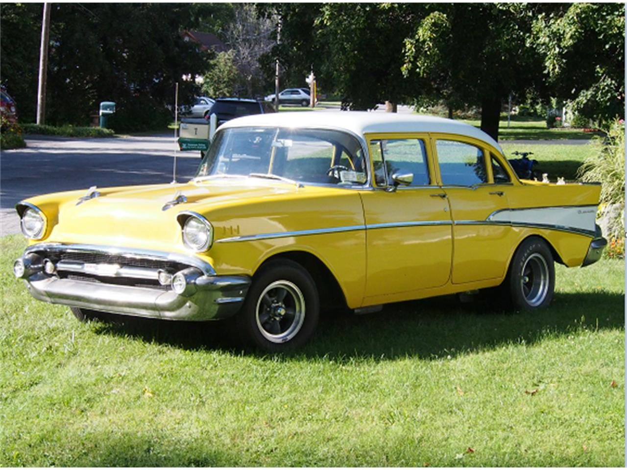 1957 Chevrolet Bel Air 210 For Sale Cc 1013208 Chevy 2 Door Hardtop Large Picture Of 57 Lpso