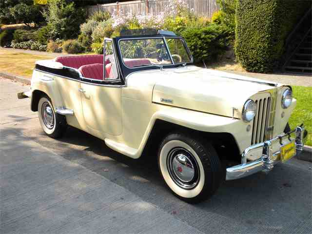 Picture of Classic '49 Willys-Overland Jeepster located in Seattle WASHINGTON Offered by a Private Seller - LPU9