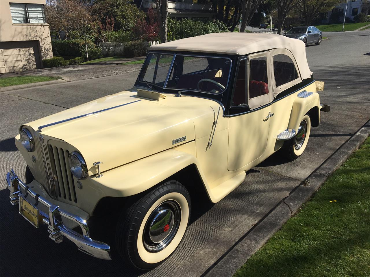 Large Picture of Classic 1949 Willys-Overland Jeepster located in Washington Offered by a Private Seller - LPU9
