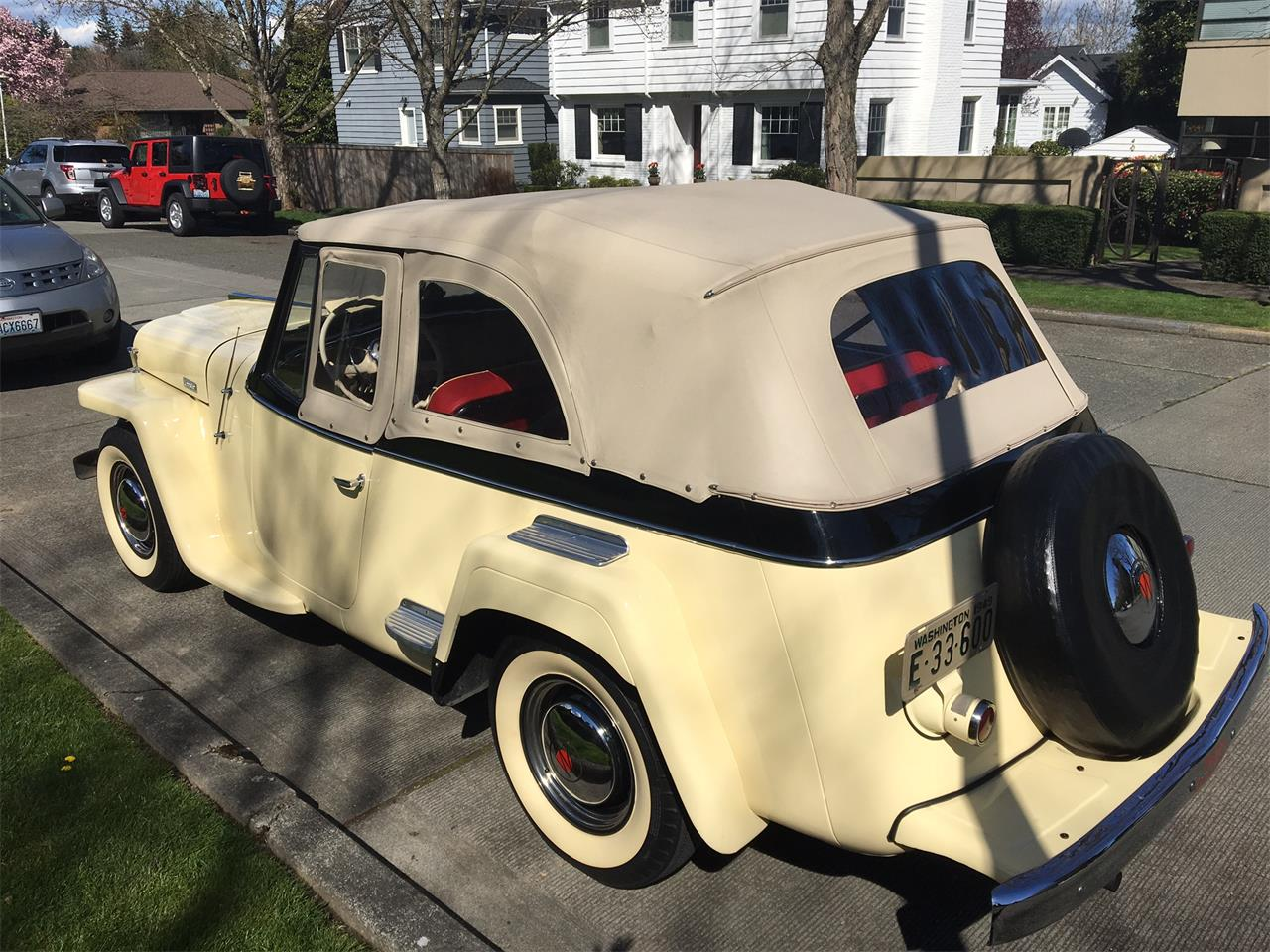 Large Picture of Classic 1949 Jeepster Offered by a Private Seller - LPU9