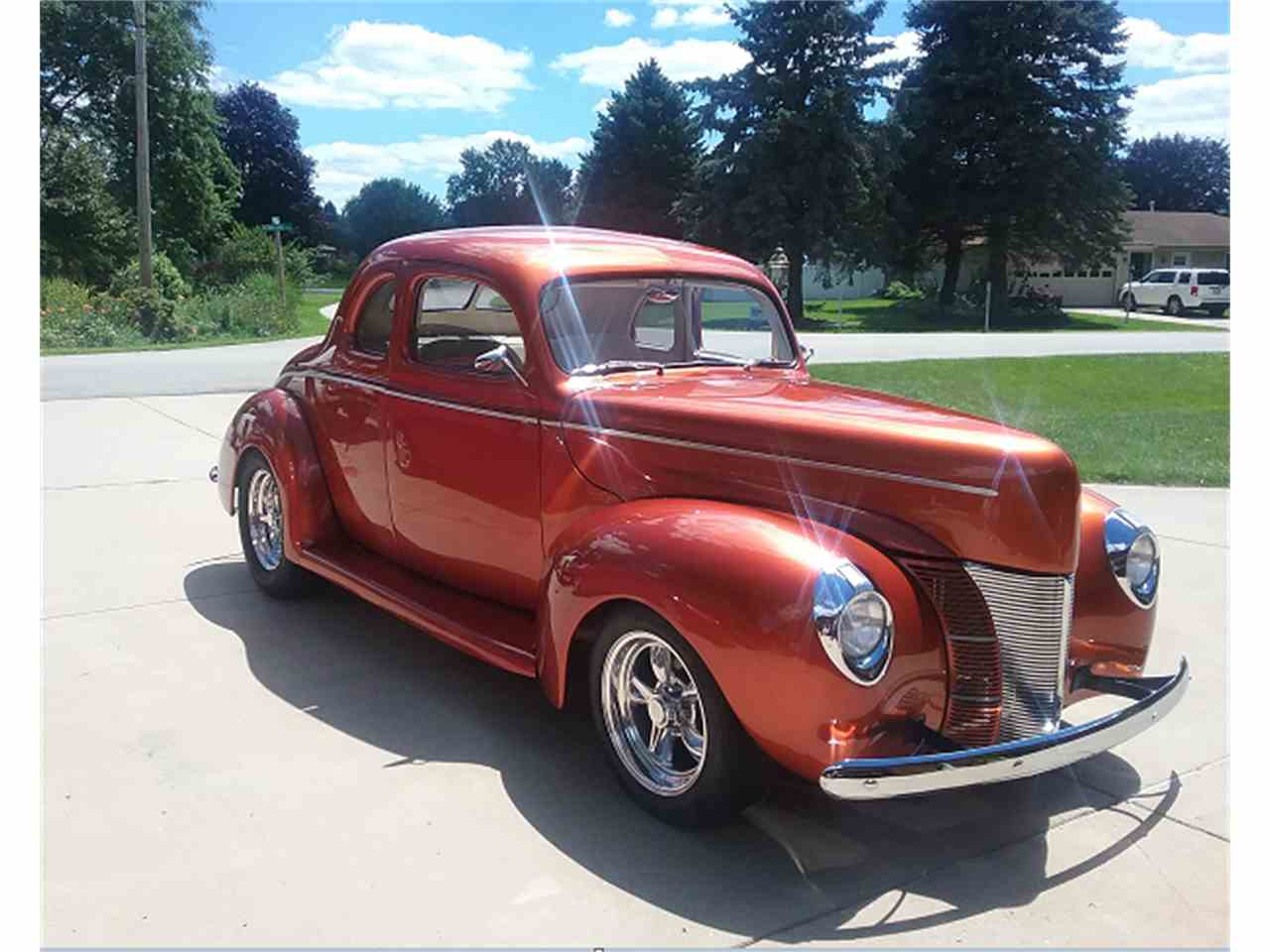 1940 ford deluxe coupe for sale cc 1013288. Black Bedroom Furniture Sets. Home Design Ideas