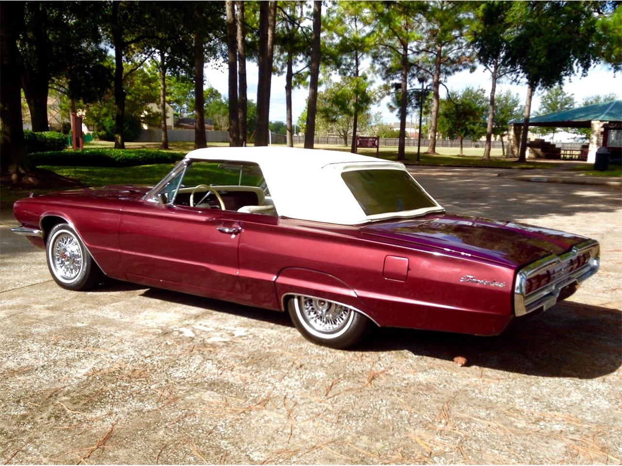 Large Picture of Classic '66 Thunderbird located in Pasadena  Texas - $17,500.00 - LPV4