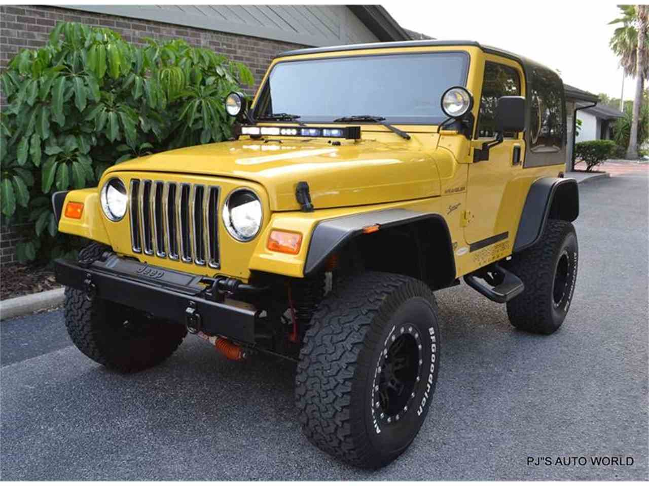 2002 jeep wrangler for sale cc 1013427. Black Bedroom Furniture Sets. Home Design Ideas