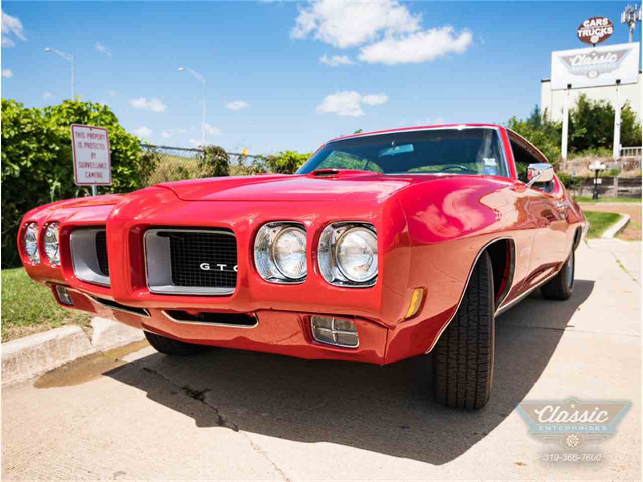 1970 pontiac gto for sale cc 1013432. Black Bedroom Furniture Sets. Home Design Ideas