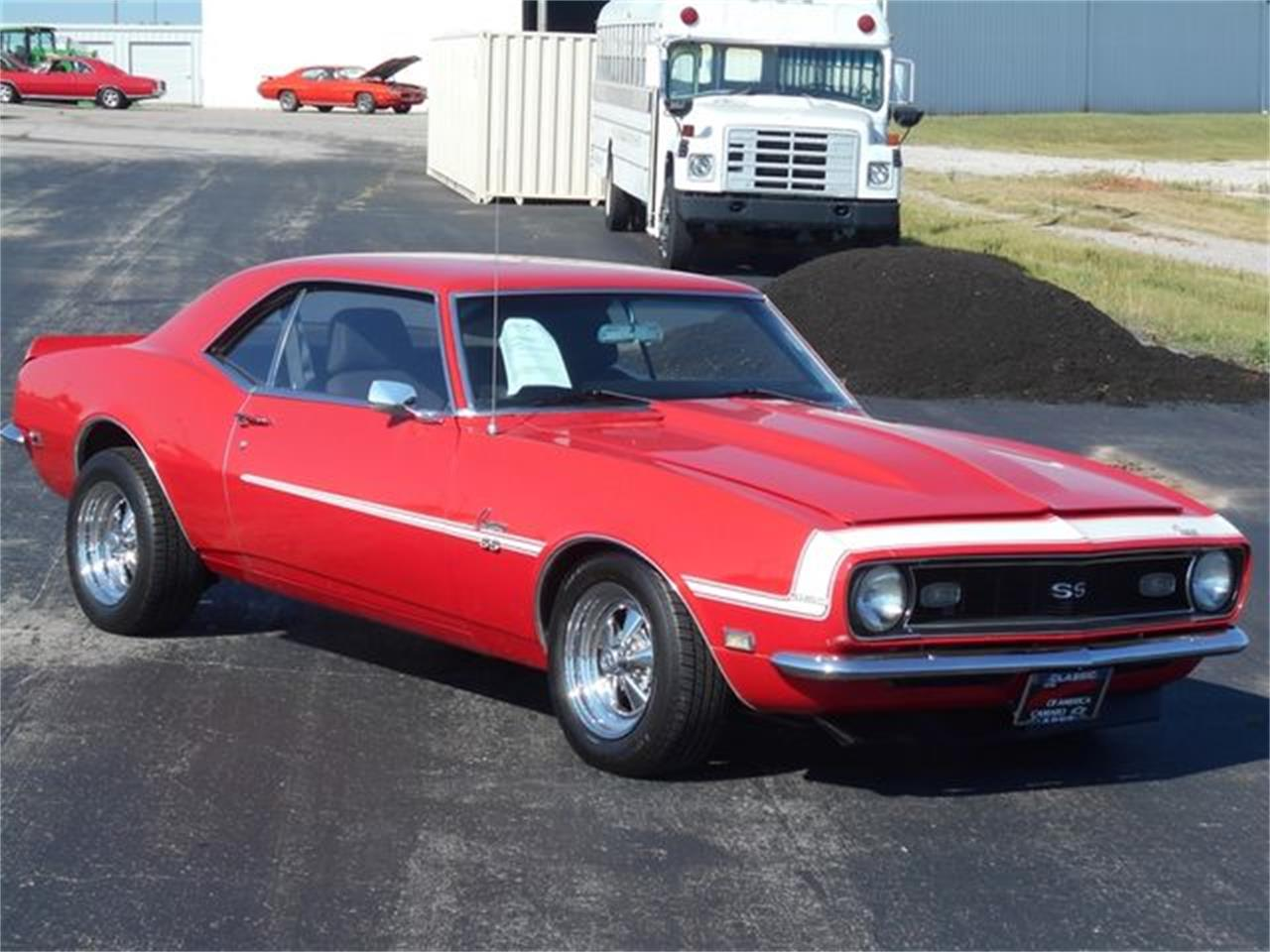 Large Picture of 1968 Chevrolet Camaro located in Oklahoma Offered by Knippelmier Classics - LQ0T