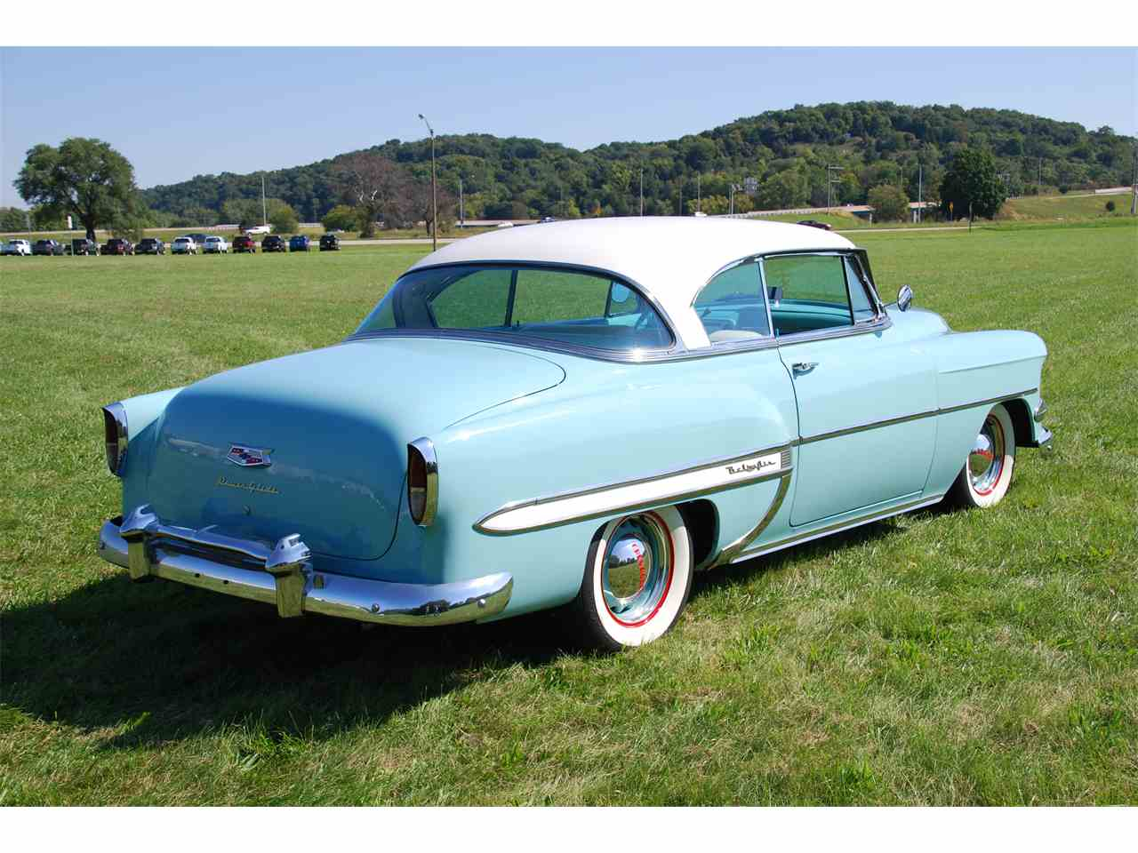 1954 chevrolet bel air for sale cc 1010389. Black Bedroom Furniture Sets. Home Design Ideas