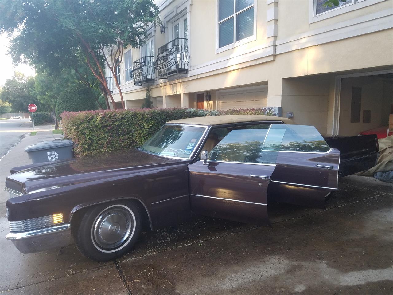 1970 cadillac sedan deville for sale classiccars com cc 1013908