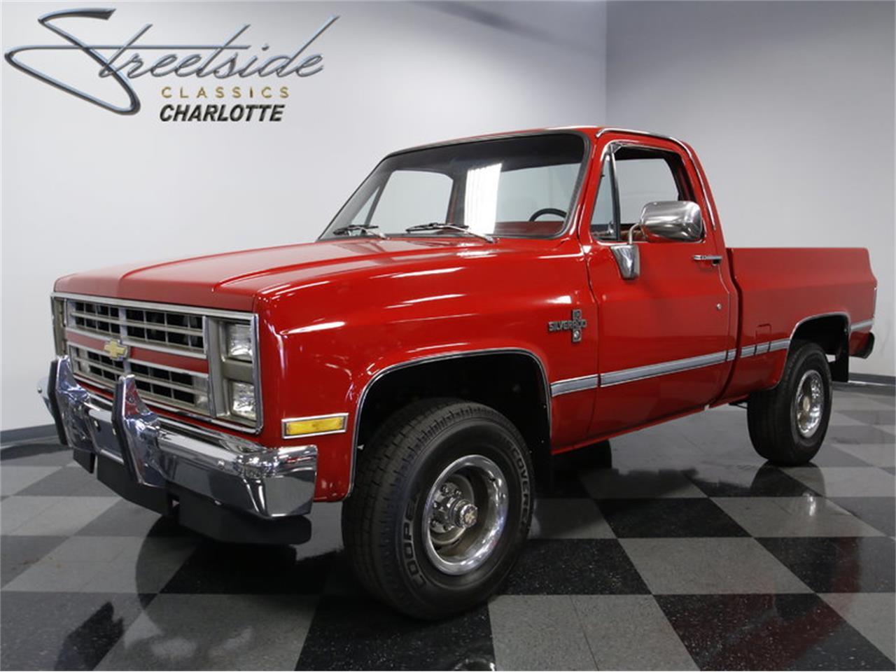 For Sale: 1985 Chevrolet Silverado K-10 4x4 in Concord, North Carolina
