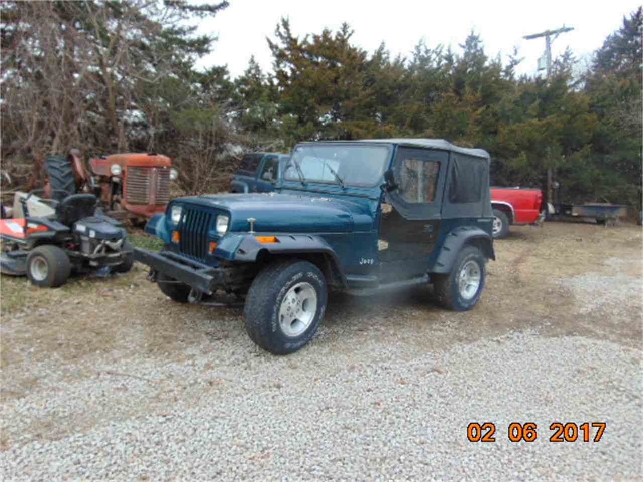 Large Picture of '95 Wrangler - LQWV