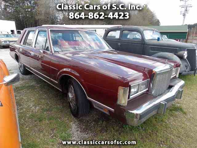 Picture of '85 Lincoln Town Car Offered by  - LQXI