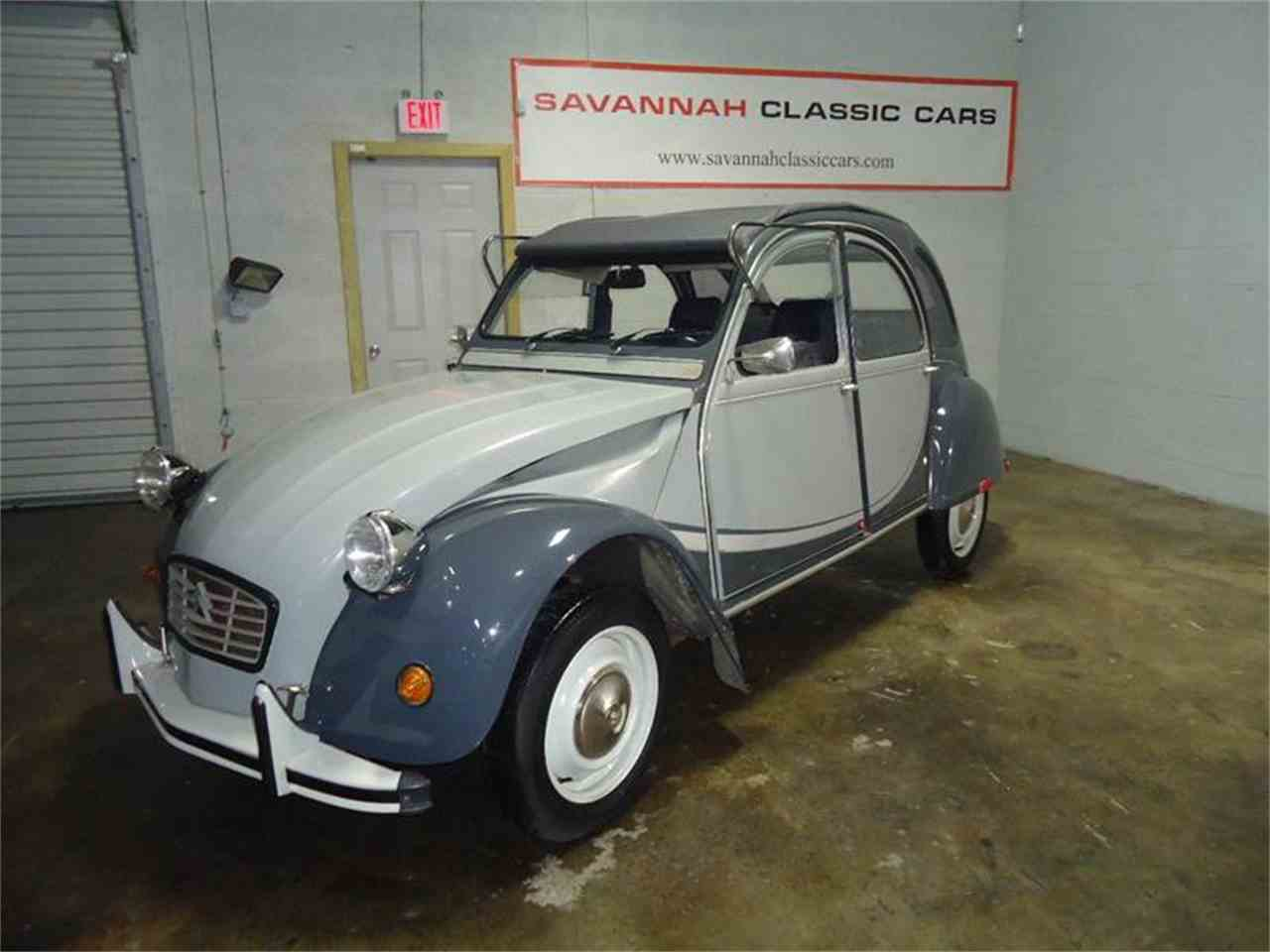 1963 citroen 2cv for sale cc 1014775. Black Bedroom Furniture Sets. Home Design Ideas