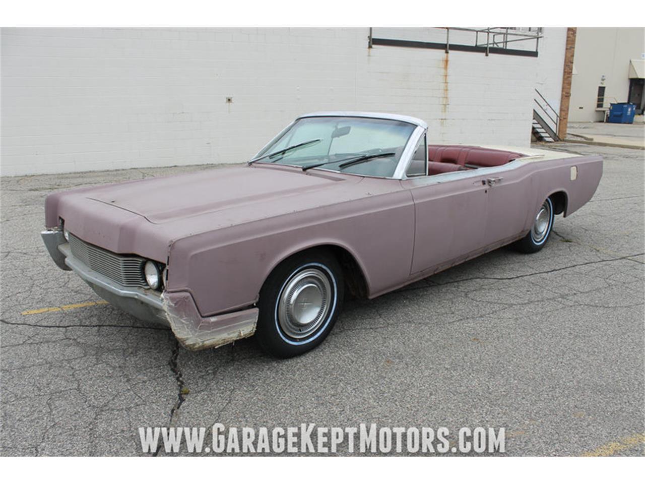 4 Door Convertible >> 1967 Lincoln Continental 4 Door Convertible For Sale Classiccars