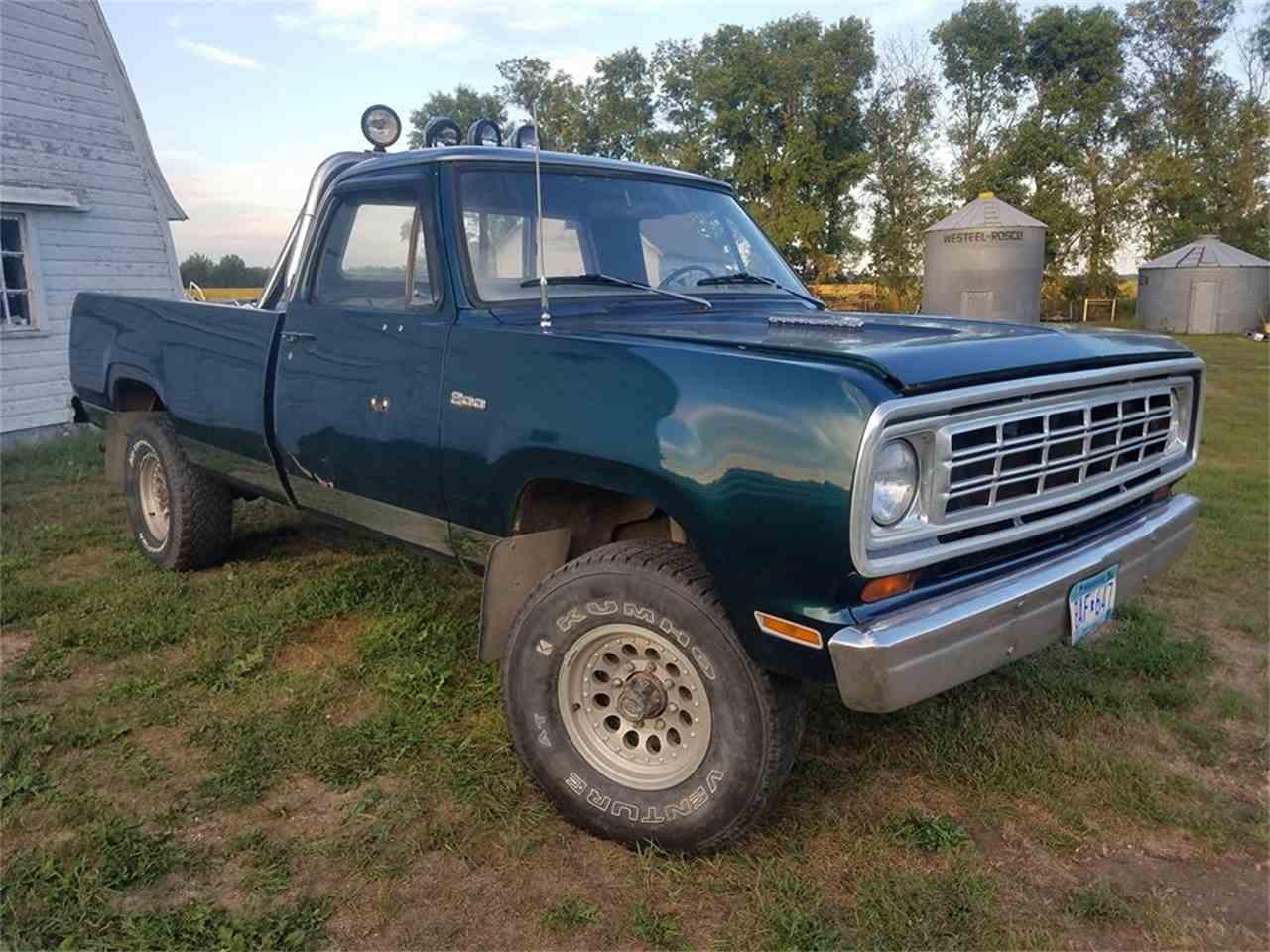 1974 Dodge Power Wagon for Sale | ClicCars.com | CC-1015052