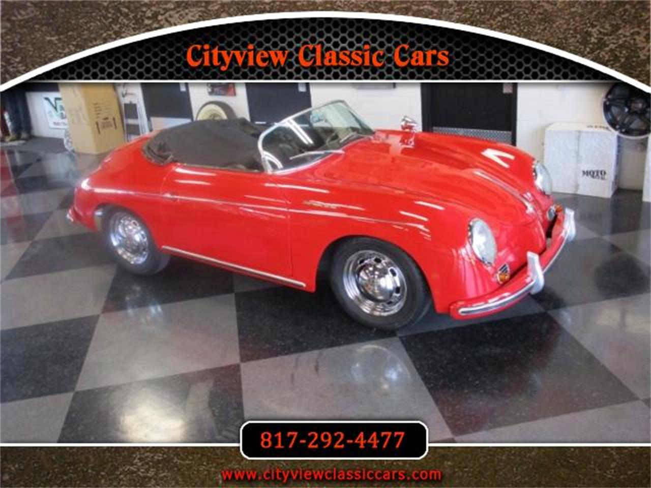 For Sale: 1956 ASVE Speedster Replica in Fort Worth, Texas