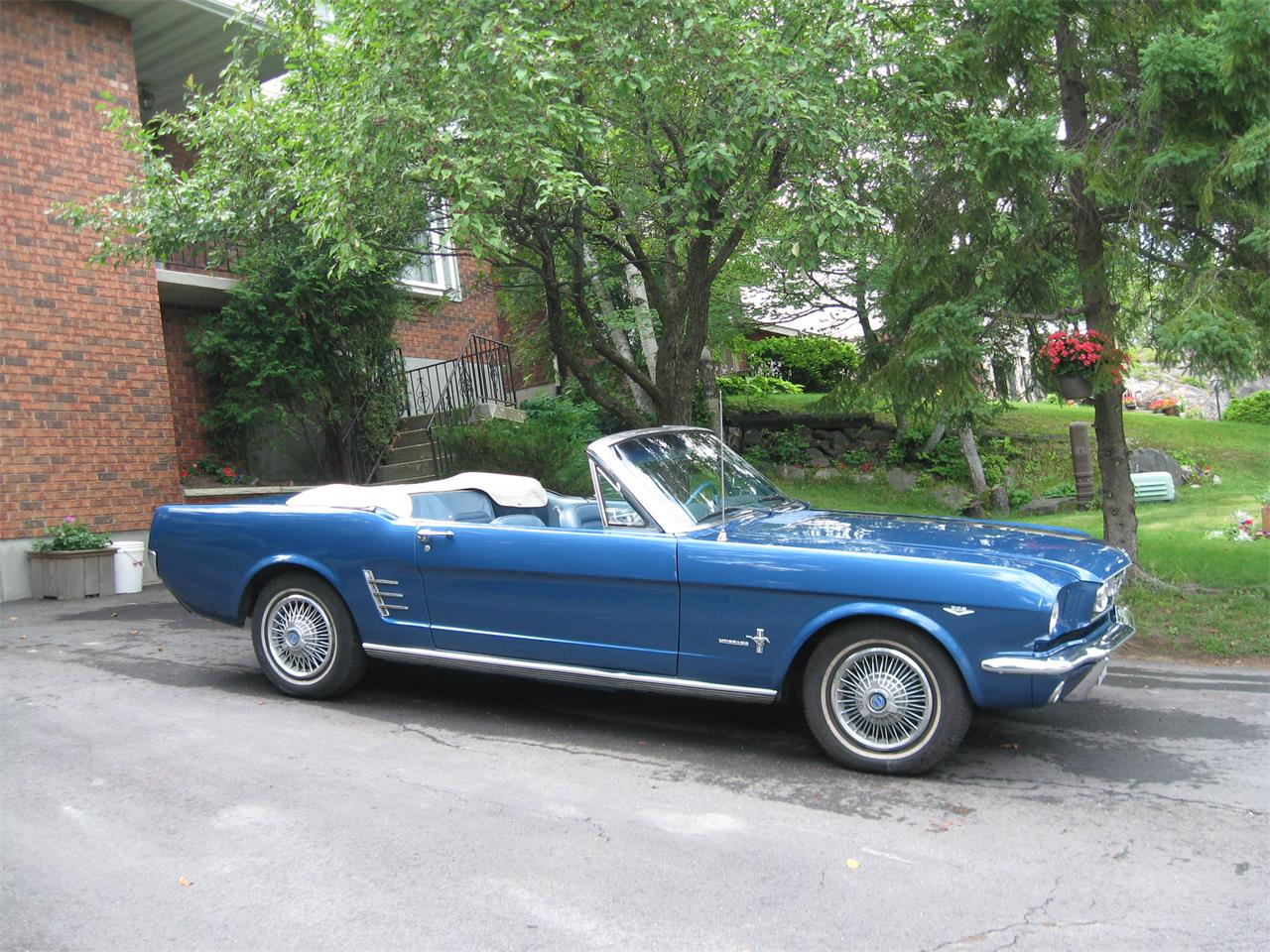 For sale 1966 ford mustang in sudbury ontario