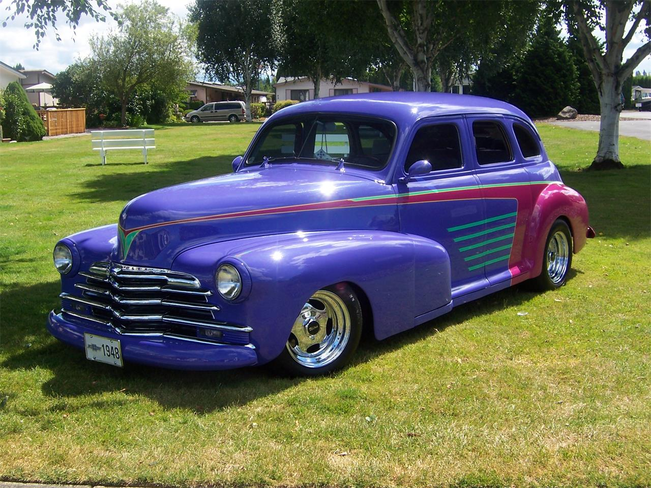 Large Picture of Classic 1948 Chevrolet Fleetmaster located in Vancouver Washington - $18,500.00 Offered by a Private Seller - LNQ9