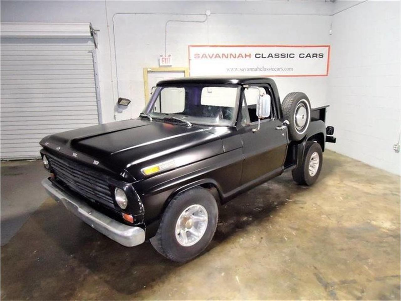 Cars For Sale Savannah Ga: 1968 Ford F100 For Sale