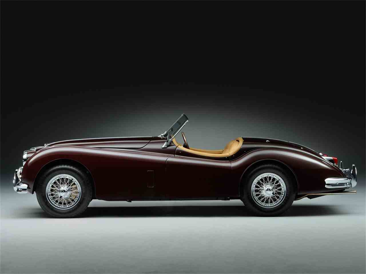 Large Picture of '55 XK140 - LRLA