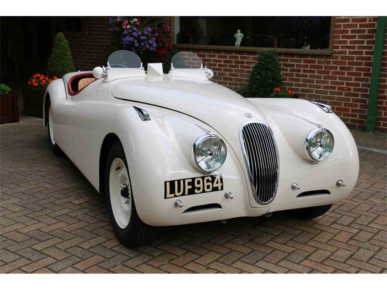 Large Picture of Classic 1952 XK120 Auction Vehicle Offered by JD Classics LTD - LRLH