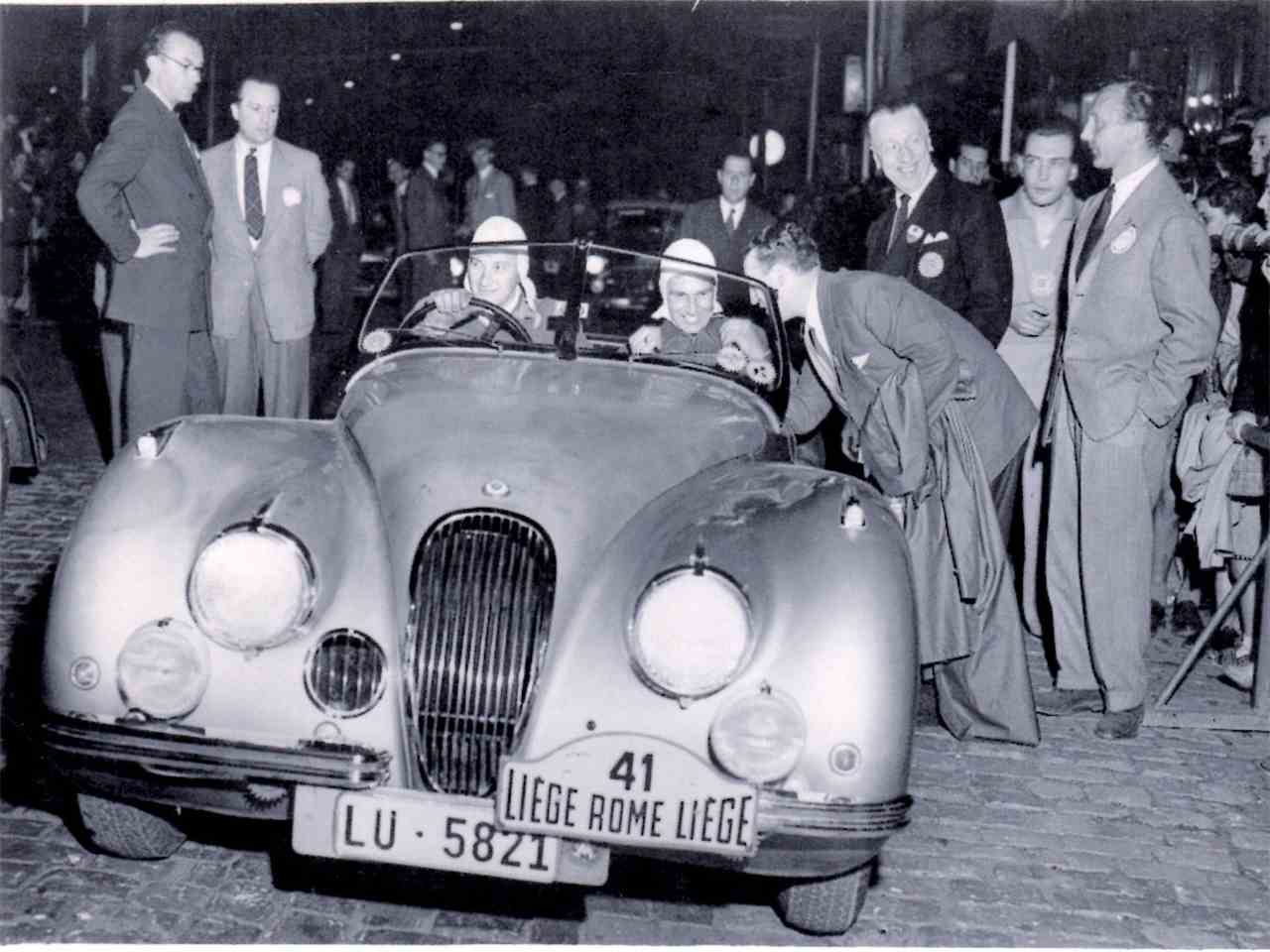 Large Picture of '51 XK120 - LRLL