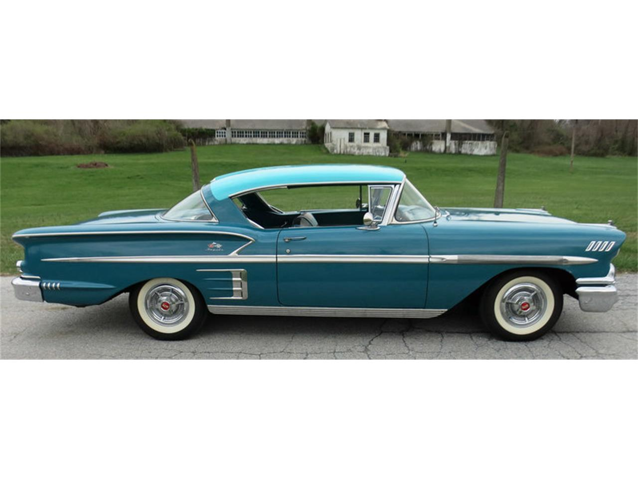 Large Picture of '58 Impala - $45,000.00 Offered by Connors Motorcar Company - LRM8