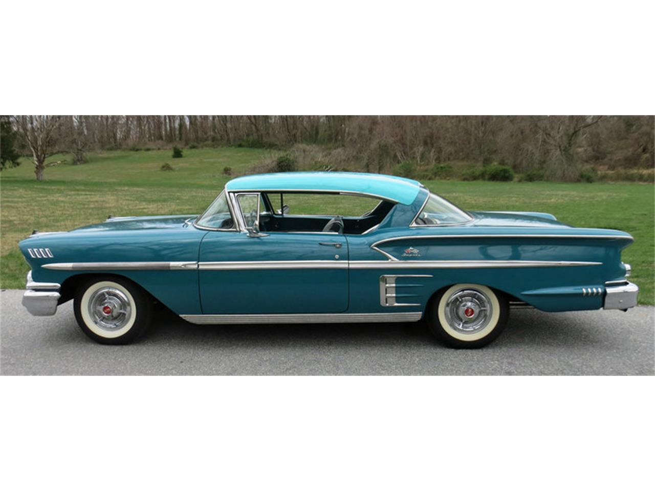 Large Picture of Classic '58 Impala - $45,000.00 Offered by Connors Motorcar Company - LRM8