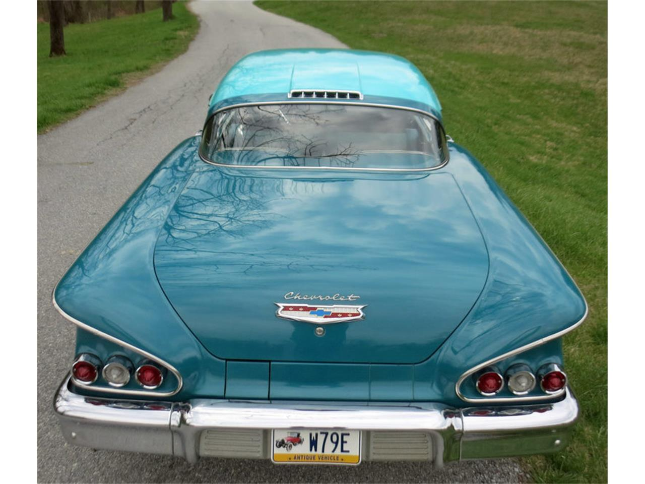 Large Picture of '58 Chevrolet Impala Offered by Connors Motorcar Company - LRM8