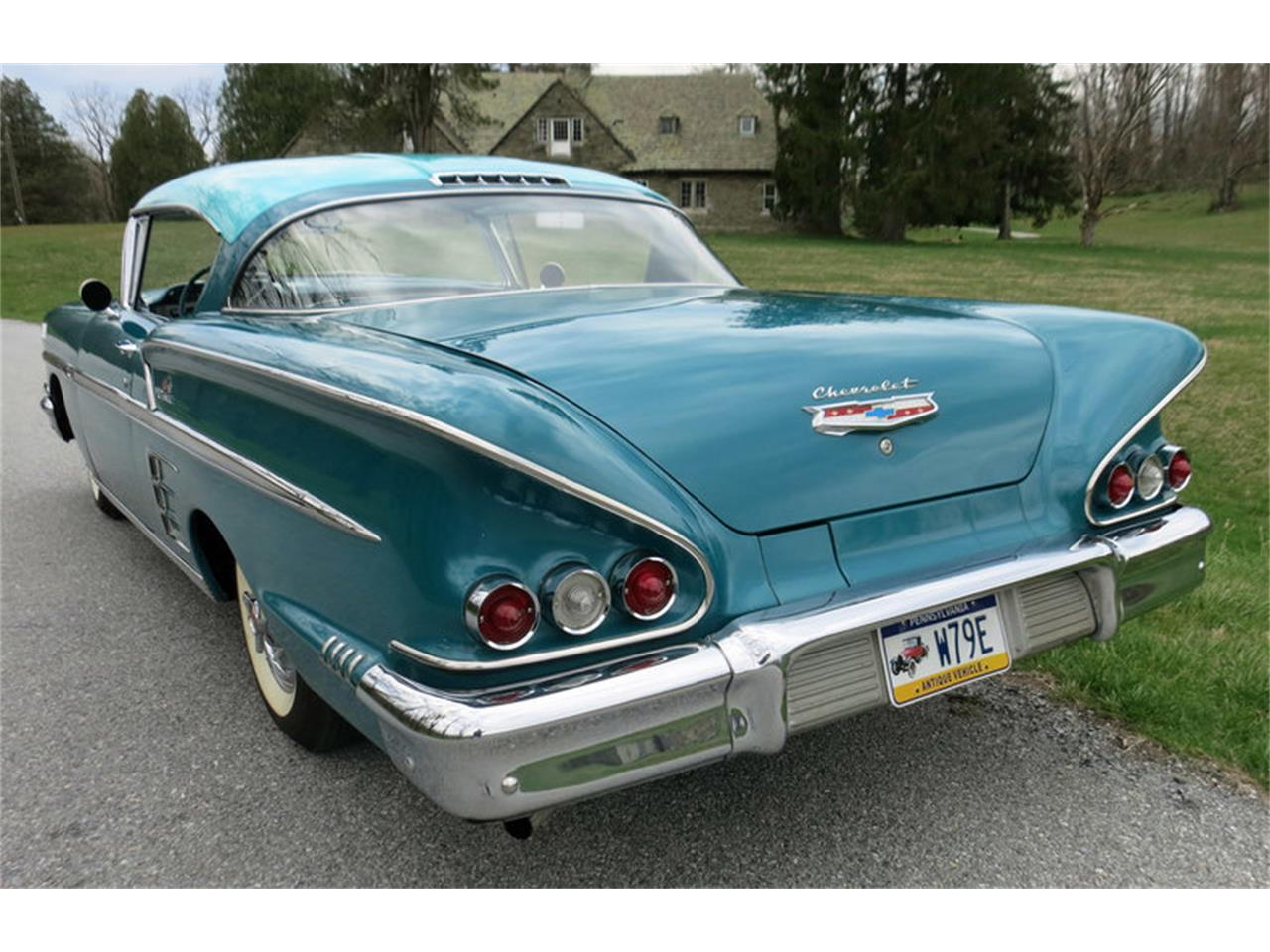 Large Picture of Classic '58 Chevrolet Impala located in Pennsylvania - $45,000.00 Offered by Connors Motorcar Company - LRM8