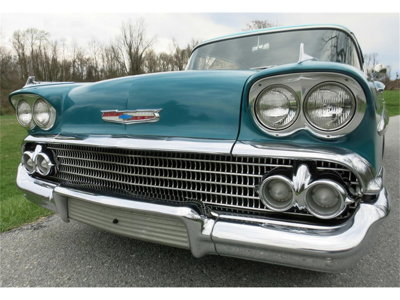 Large Picture of Classic '58 Chevrolet Impala Offered by Connors Motorcar Company - LRM8