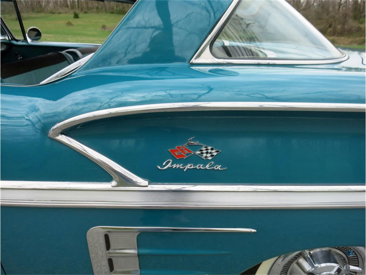 Large Picture of 1958 Chevrolet Impala located in Pennsylvania - $45,000.00 Offered by Connors Motorcar Company - LRM8