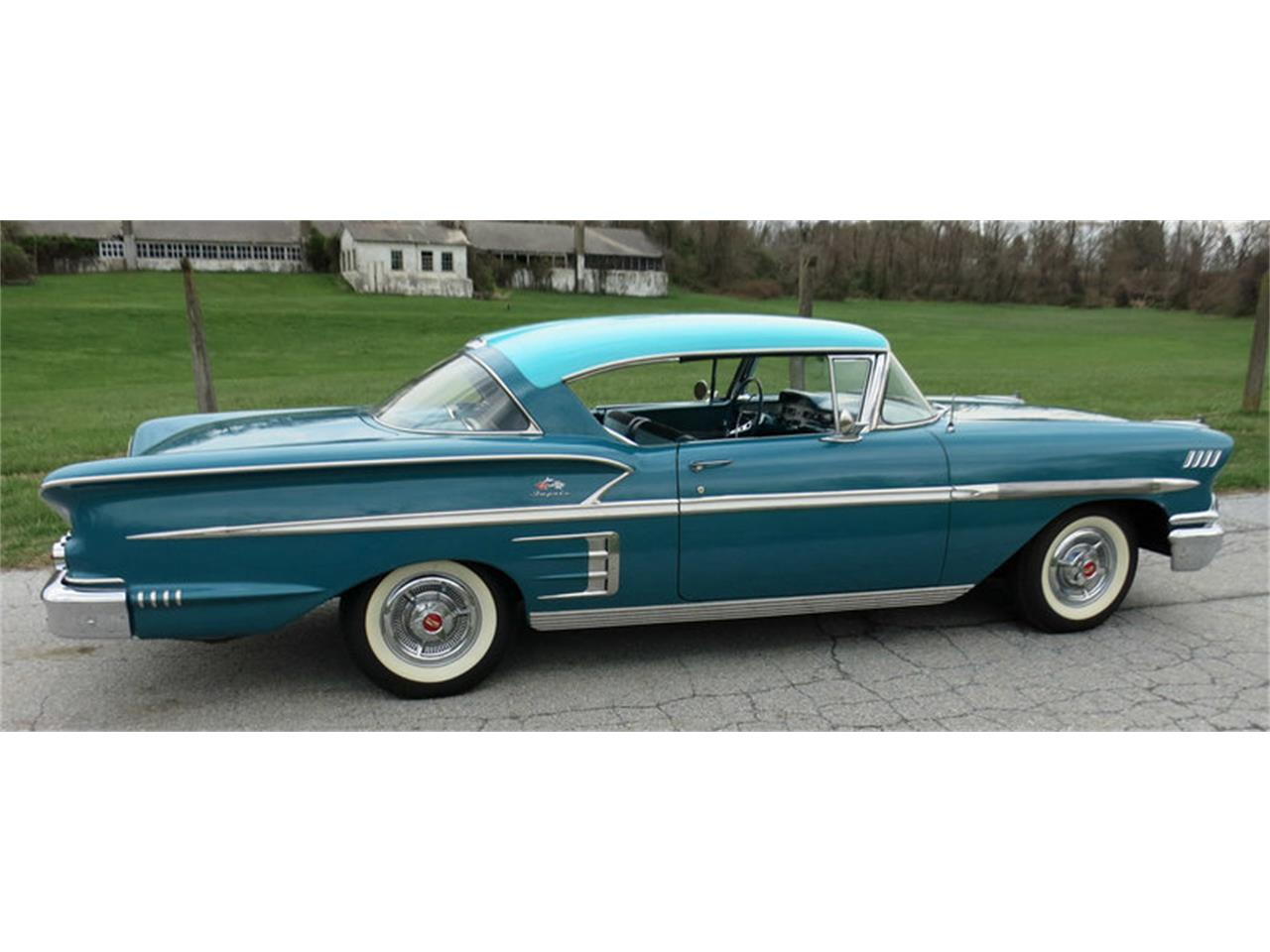 Large Picture of '58 Chevrolet Impala located in West Chester Pennsylvania - $45,000.00 Offered by Connors Motorcar Company - LRM8