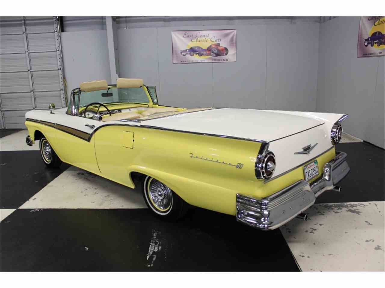 Large Picture of 1957 Ford Fairlane 500 located in Lillington North Carolina Offered by East Coast Classic Cars - LRPU