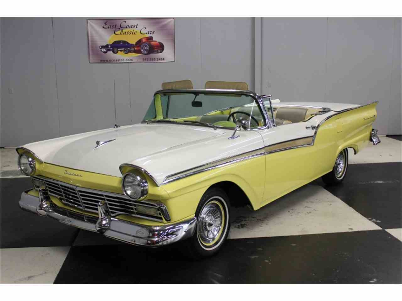 Large Picture of Classic 1957 Ford Fairlane 500 located in North Carolina Offered by East Coast Classic Cars - LRPU