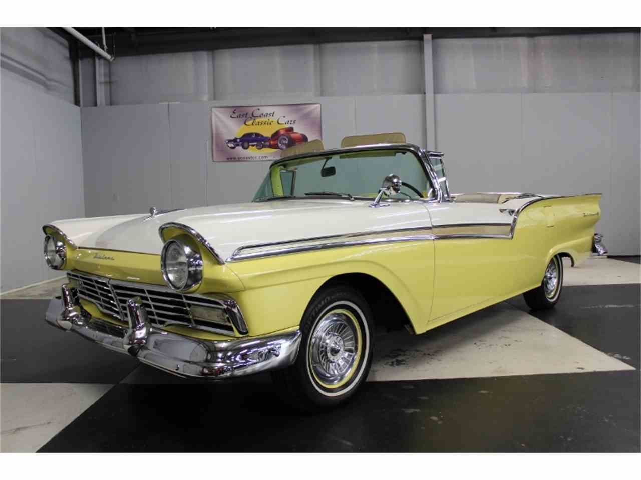 Large Picture of Classic 1957 Ford Fairlane 500 - $48,500.00 Offered by East Coast Classic Cars - LRPU