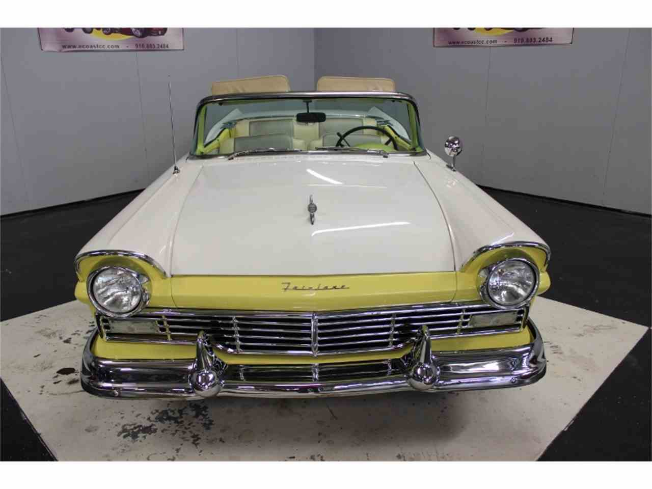 Large Picture of 1957 Ford Fairlane 500 located in North Carolina Offered by East Coast Classic Cars - LRPU