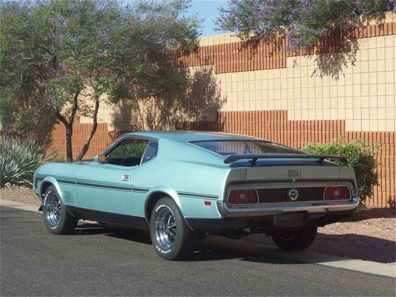 Large Picture of '72 Mustang Mach 1 Fastback - LRQ2
