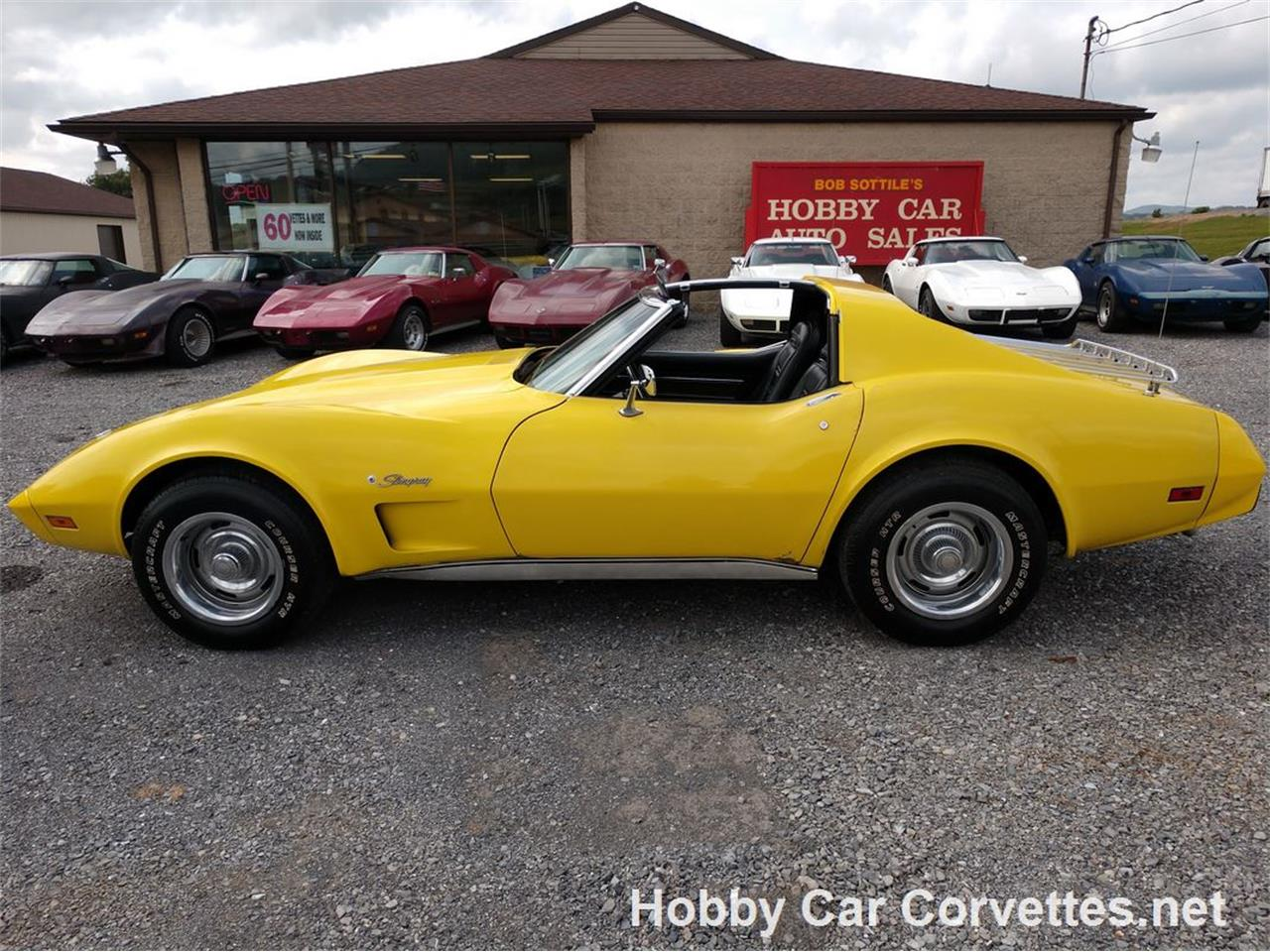 Large Picture of 1975 Chevrolet Corvette located in Pennsylvania Offered by Hobby Car Corvettes - LRQK