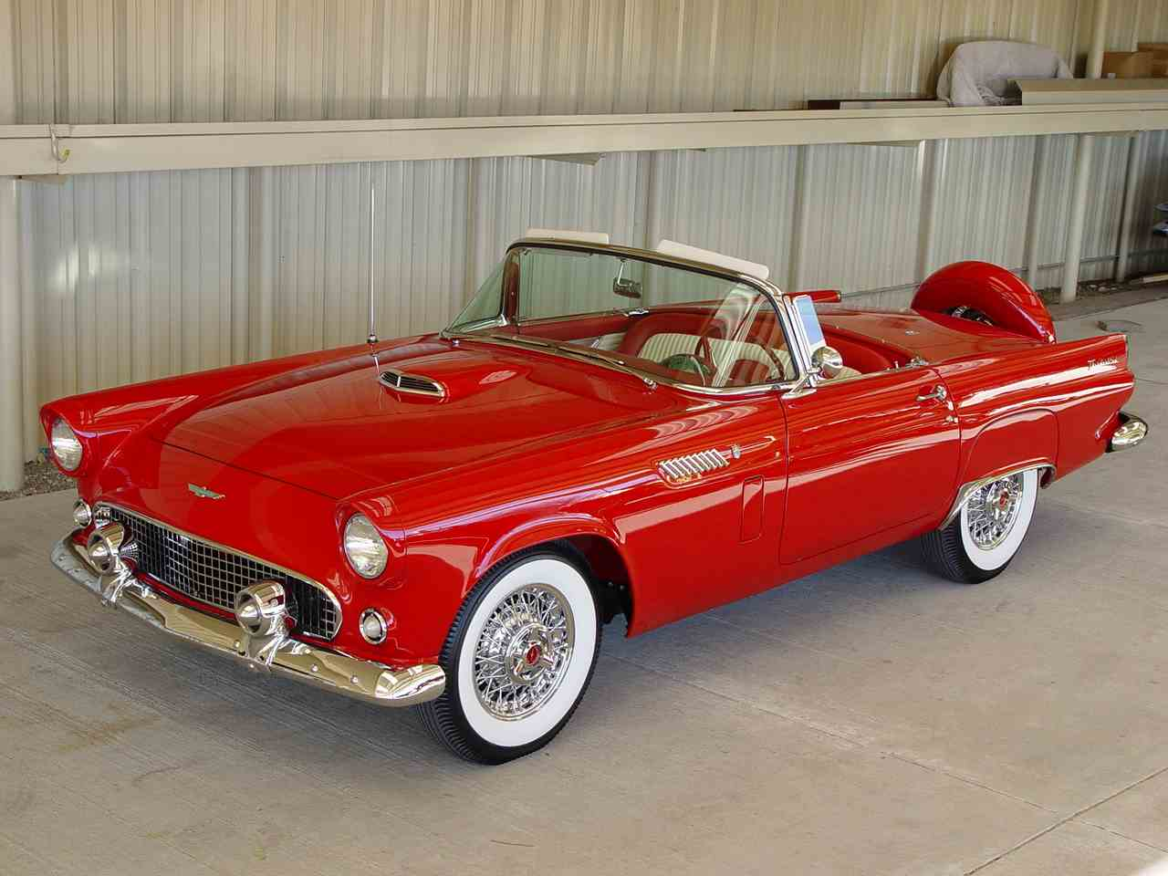 Large Picture of '56 Thunderbird - LRQR