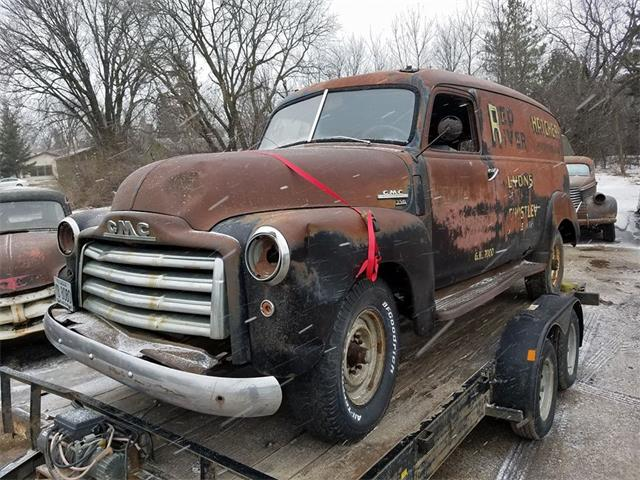 1950 GMC Panel Delivery Van