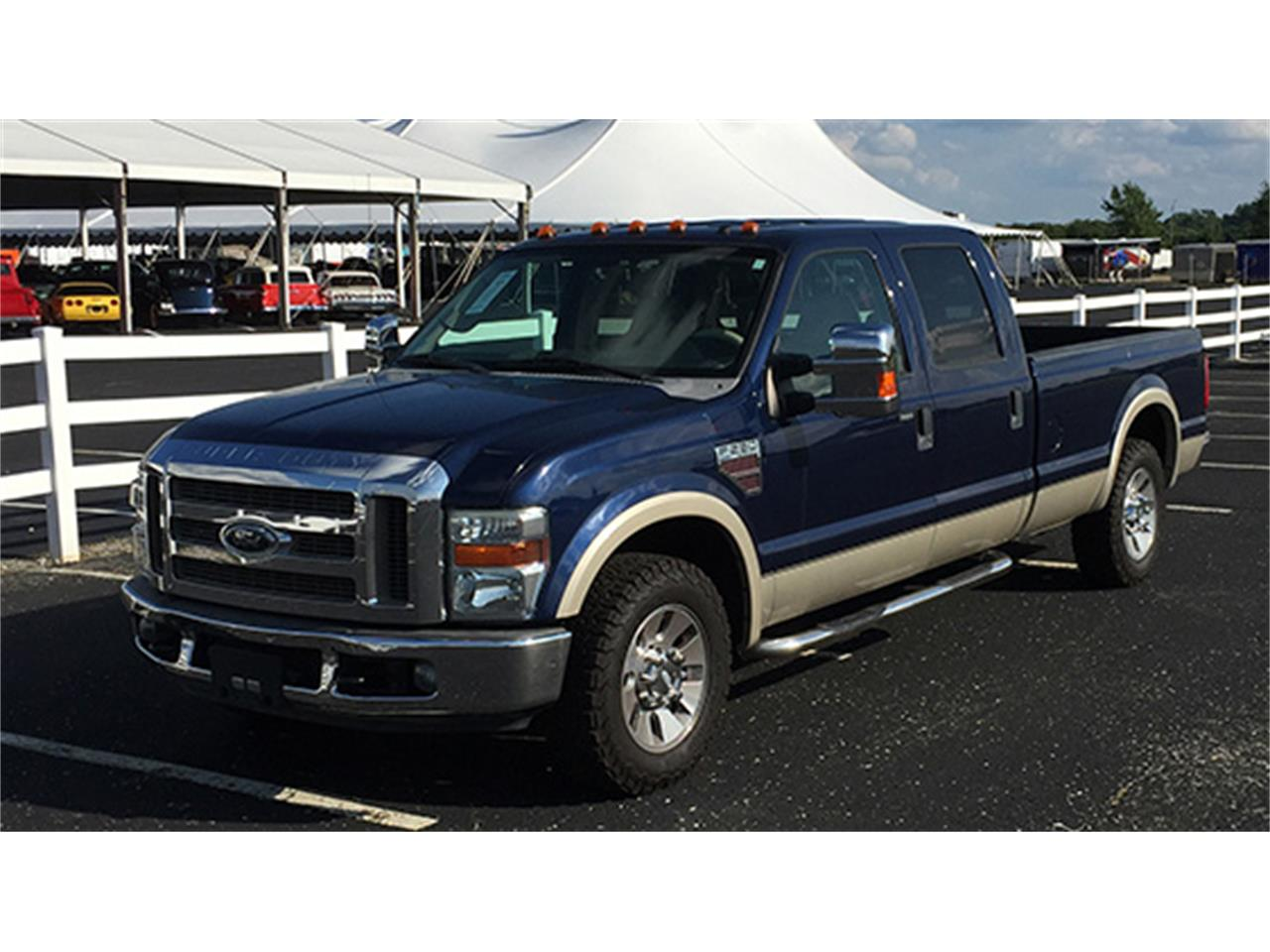 2008 Ford F 250 Lariat Crew Cab Pickup For Sale
