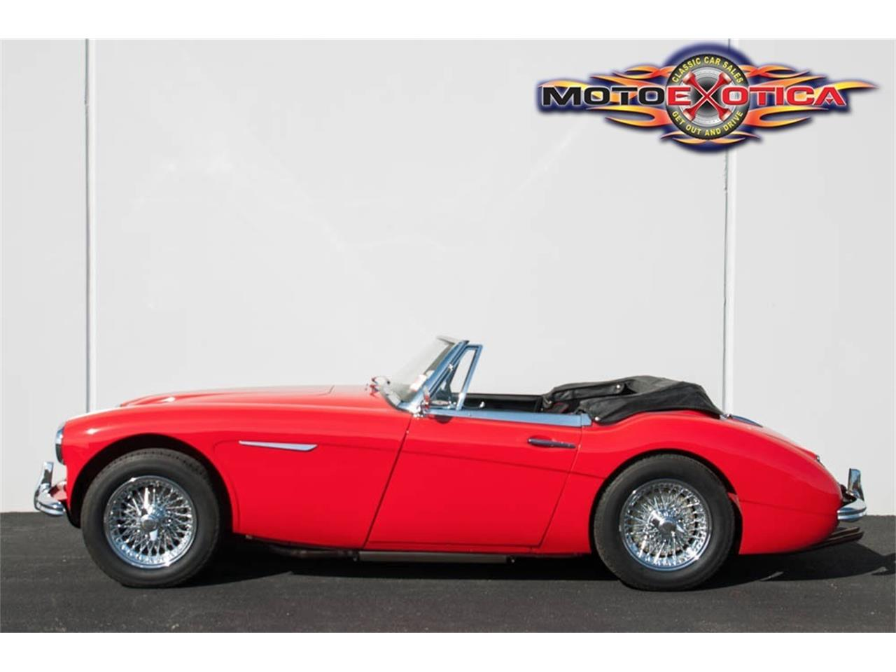 Large Picture of Classic '63 Austin-Healey 3000 Mark II - $41,900.00 Offered by MotoeXotica Classic Cars - LRSJ