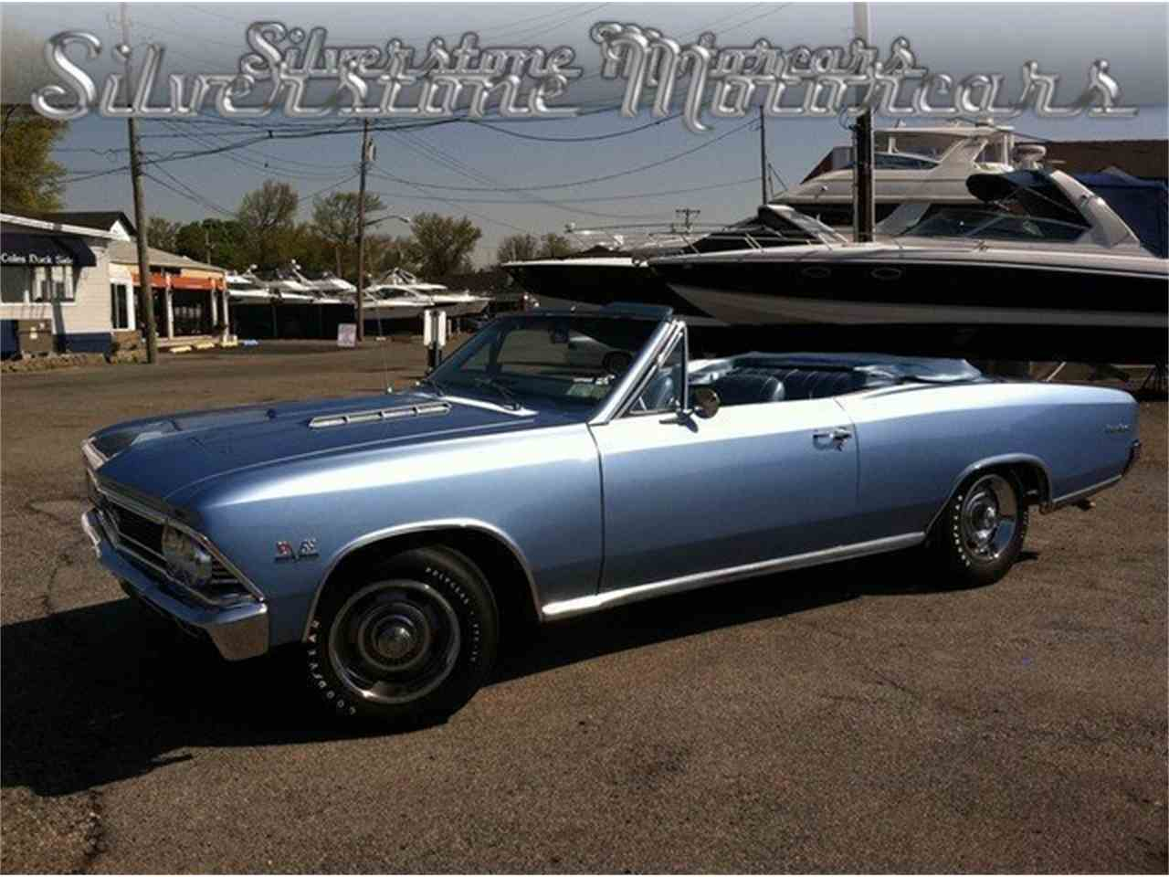 Large Picture of Classic 1966 Chevelle SS located in Massachusetts - LRTM
