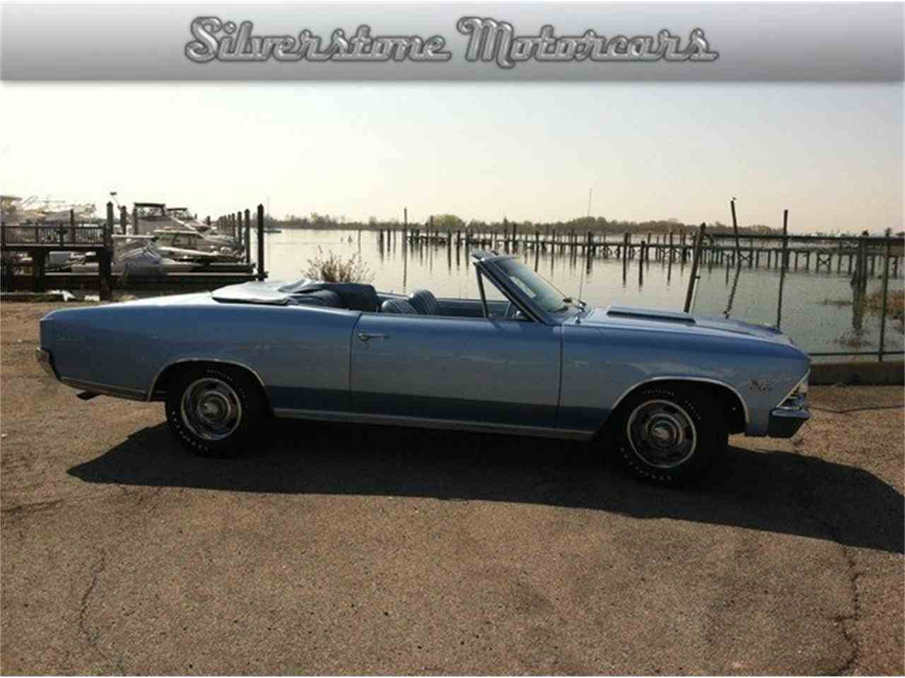 Large Picture of '66 Chevelle SS located in Massachusetts Offered by Silverstone Motorcars - LRTM
