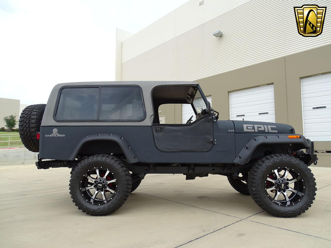 Large Picture of '81 Jeep CJ8 Scrambler located in Texas Offered by Gateway Classic Cars - Dallas - LRUP