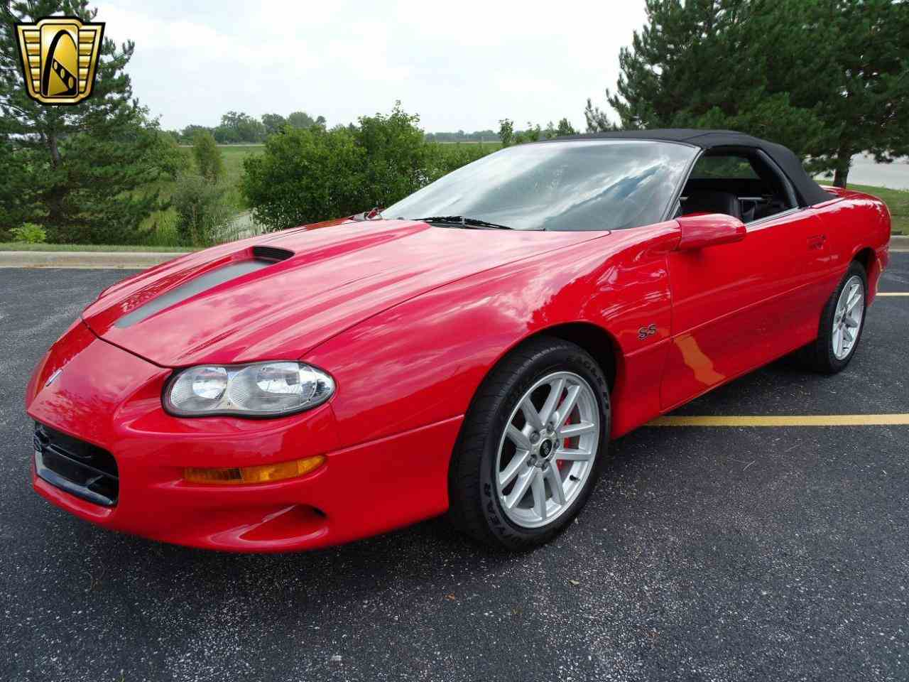 Large Picture of 2002 Chevrolet Camaro located in Crete Illinois - LRV9