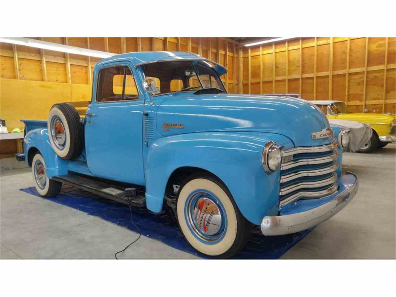 Large Picture of 1951 Chevrolet 3/4-Ton Pickup located in Hanover Massachusetts Offered by CARuso Classic Cars - LRWS